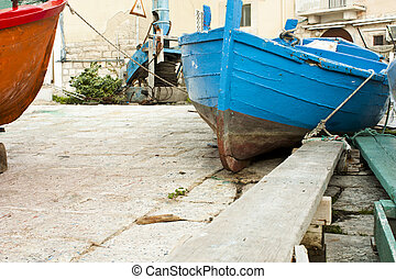 barca blu