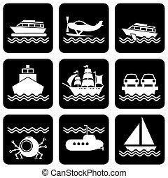 barca, icone