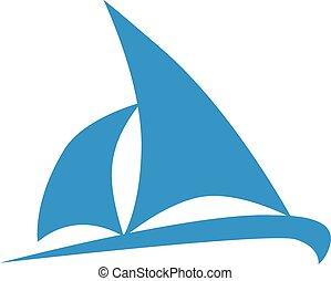 barca naviga, icona