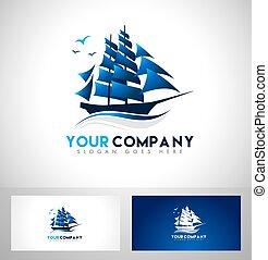 barca naviga, logotipo