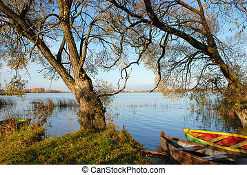 barca, spazio sosta