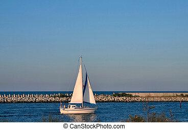 barca vela