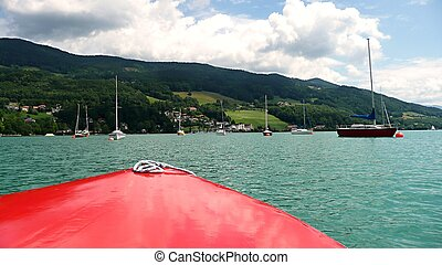 barca, vista
