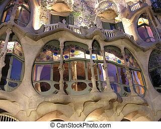 barcelona, architektur, 2005