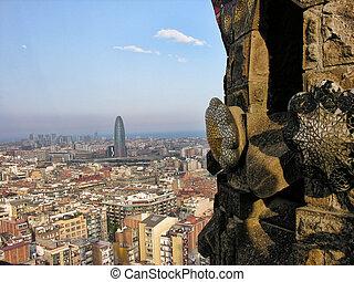 barcelona, architektura