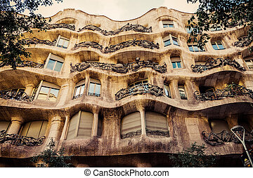 Barcelona. Catalonia, Spain. - BARCELONA, SPAIN - AUGUST 24...