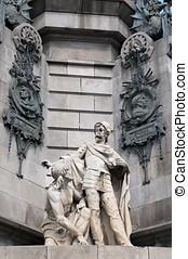 barcelona, christopher colón