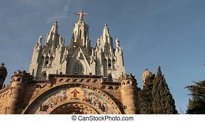 Barcelona: Church Sagrada Corazon