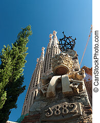 Barcelona - La Sagrada Familia - BARCELONA, SPAIN - JUNE 28...