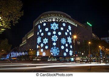 Iluminado oficina 24 barcelona barcelona sem foros foto de archivo buscar fotos y - Oficinas el corte ingles barcelona ...