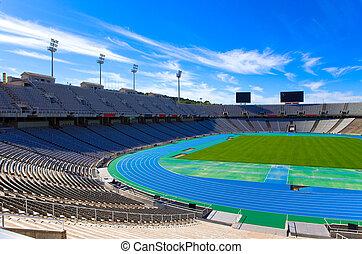 Barcelona. Olympic stadium.