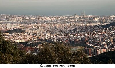 Barcelona panoramic View