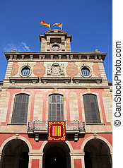 Catalonia - Barcelona - Parliament of autonomous Catalonia. ...