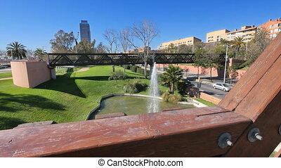 Barcelona Ronda Litoral Port Olimpic View - Highway...
