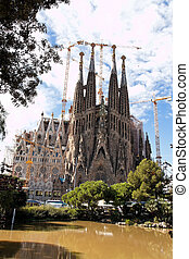 Barcelona - Sagrada Familia by Gaudi