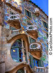 BARCELONA, SPAIN - FEBRUARY 25: Casa Batllo on February 25, ...