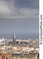 Barcelona's Financial District