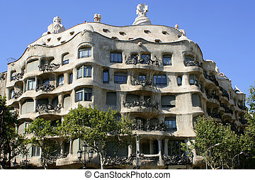 barcelone, architecture