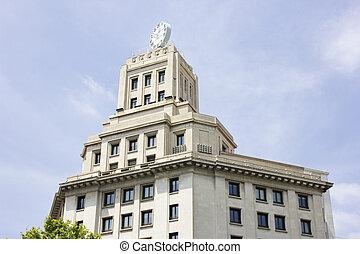 barcelone, bâtiment