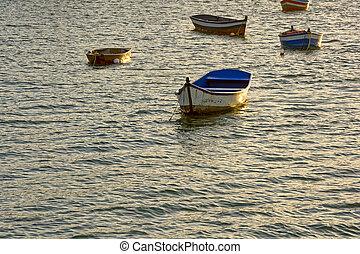 barche, mare