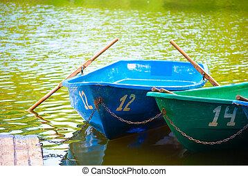barche, riva