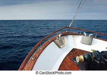 barco de recreo, arco