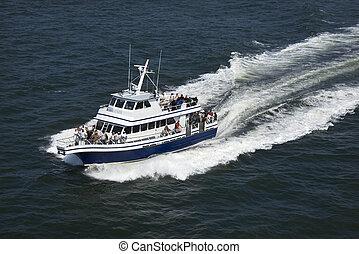 barco del transbordador, transport.