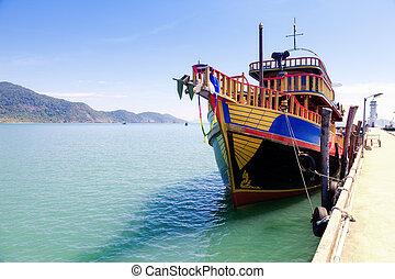barco del viaje
