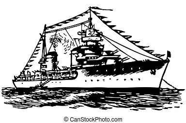 barco militar