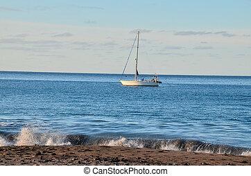 barco, Océano