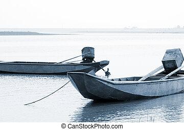 barco remando