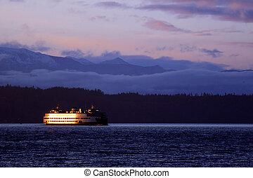 barco, transbordador, #5