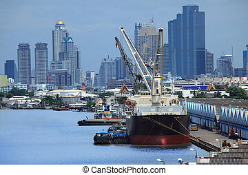 barco, transporte de mercadería