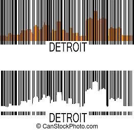 barcode, デトロイト