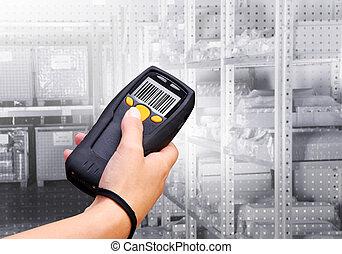 barcode, 掃描器
