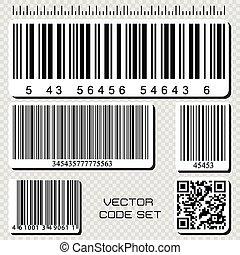 barcode, 集合