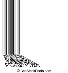 barcode abstract background