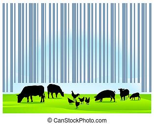 barcode, agricultura