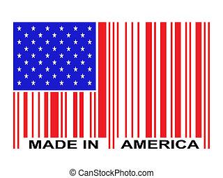 barcode, amérique, fait
