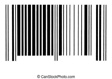 barcode - an illustration of buying and selling