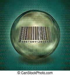barcode, capturé