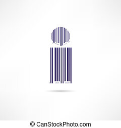 barcode, homme