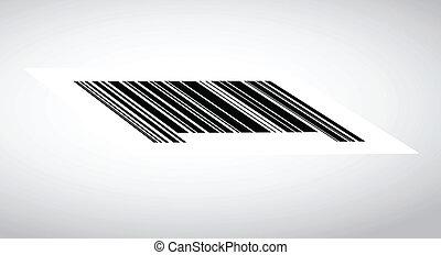 barcode illustration design