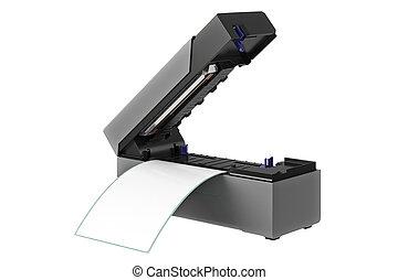 barcode, imprimante, numérique