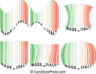 barcode italy set