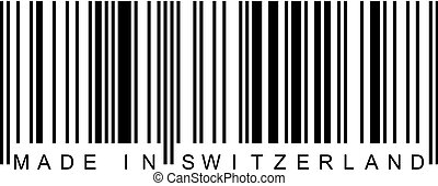 Barcode - Made in Switzerland