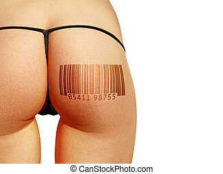 barcode on body