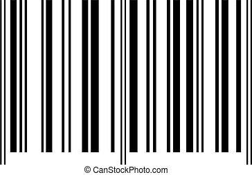 barcode consumer shopping symbol isolated on white