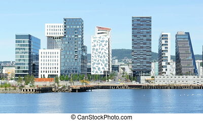 barcode project high-rise apartments of oslo norway