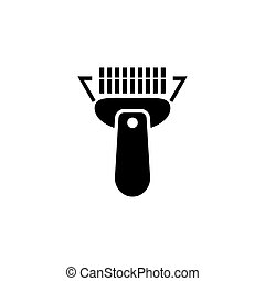 Barcode Scanner Flat Vector Icon